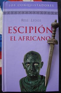 Portada del libro Escipión, El Africano, de Ross Leckie