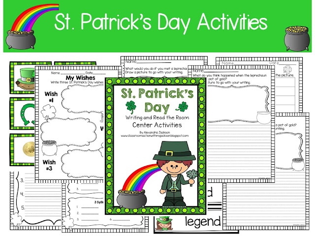 https://www.teacherspayteachers.com/Product/St-Patricks-Day-1750975