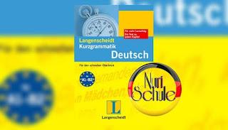 قواعد اللغة الألمانية  Langenscheidt Kurzgrammatik Deutsch  A1-B2