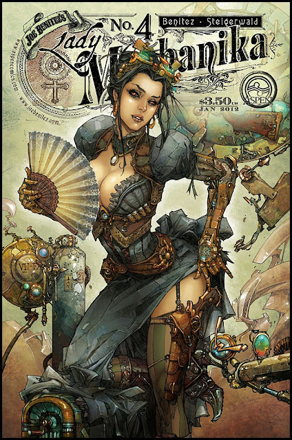 Lady Mechanica #4
