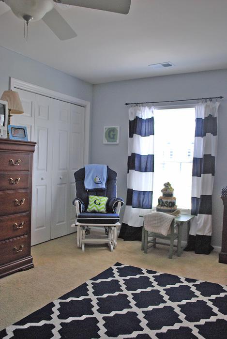 Faith S Place Finally Baby Boy Navy White Gray Nursery