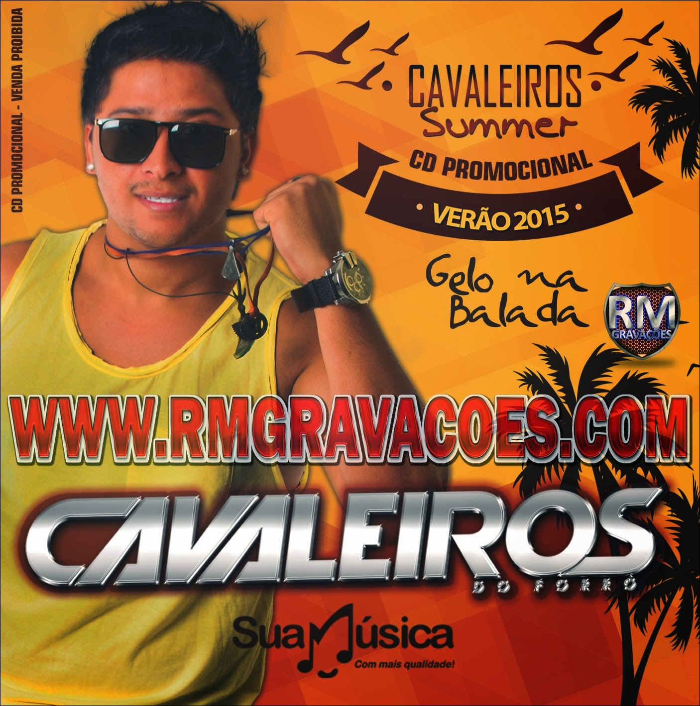 cd cavaleiros do forro promocional 2014