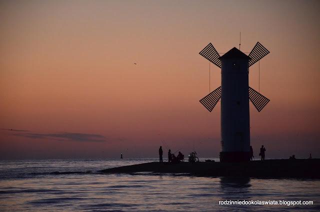 Morze Bałtyckie z dziećmi- Świnoujście