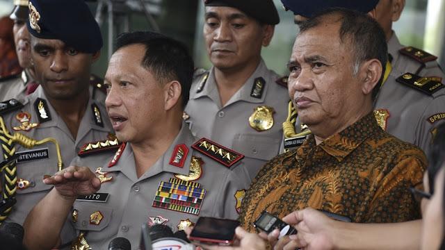 KPK-Polri Bersatu, Usut Tuntas Kasus korupsi