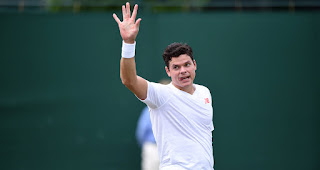 Milos Raonic Wimbledon Fourth round press conference