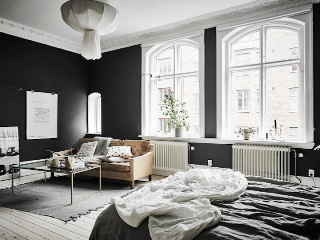 Elegant Black Walls 9