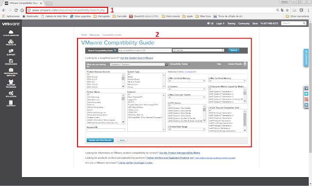 VMware Compatibility Guide.