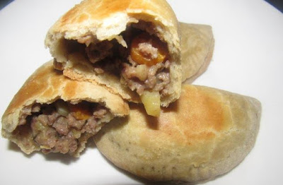 Nigerian meat pie baked without oven