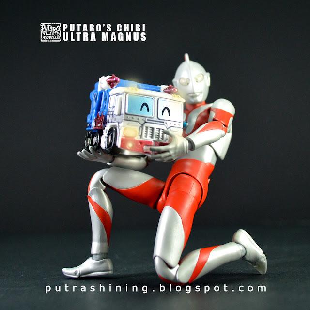 Putaro's Chibi Q Ultra Magnus Custom Painted by Putra Shining