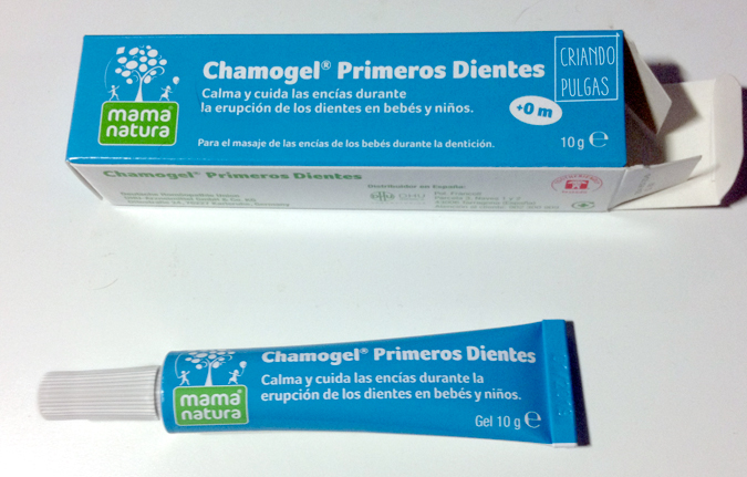 Probamos Chamogel® Primeros Dientes