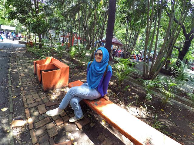 Spot foto di Kebun Binatang Surabaya