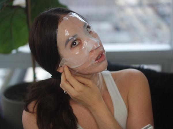 Sheetmasking for Combination Skin