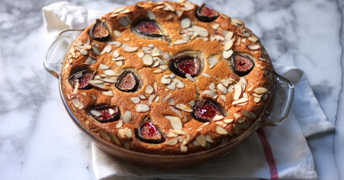 Fig And Almond Cake Gluten Free