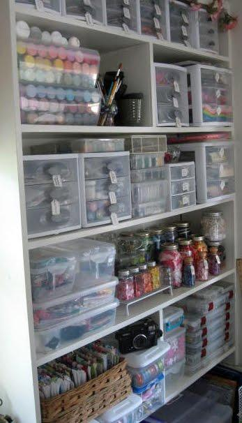 it 39 s written on the wall craft room organizing store over On cheap craft room storage ideas