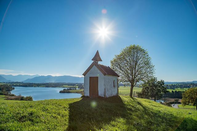 Meditationsweg Ammergauer Alpen im Blauen Land  Etappe 3 Murnau - Aidling 01