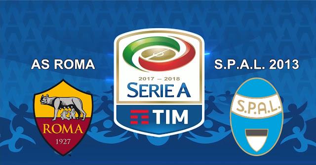 Prediksi AS Roma vs S.P.A.L 2013 2 Desember 2017