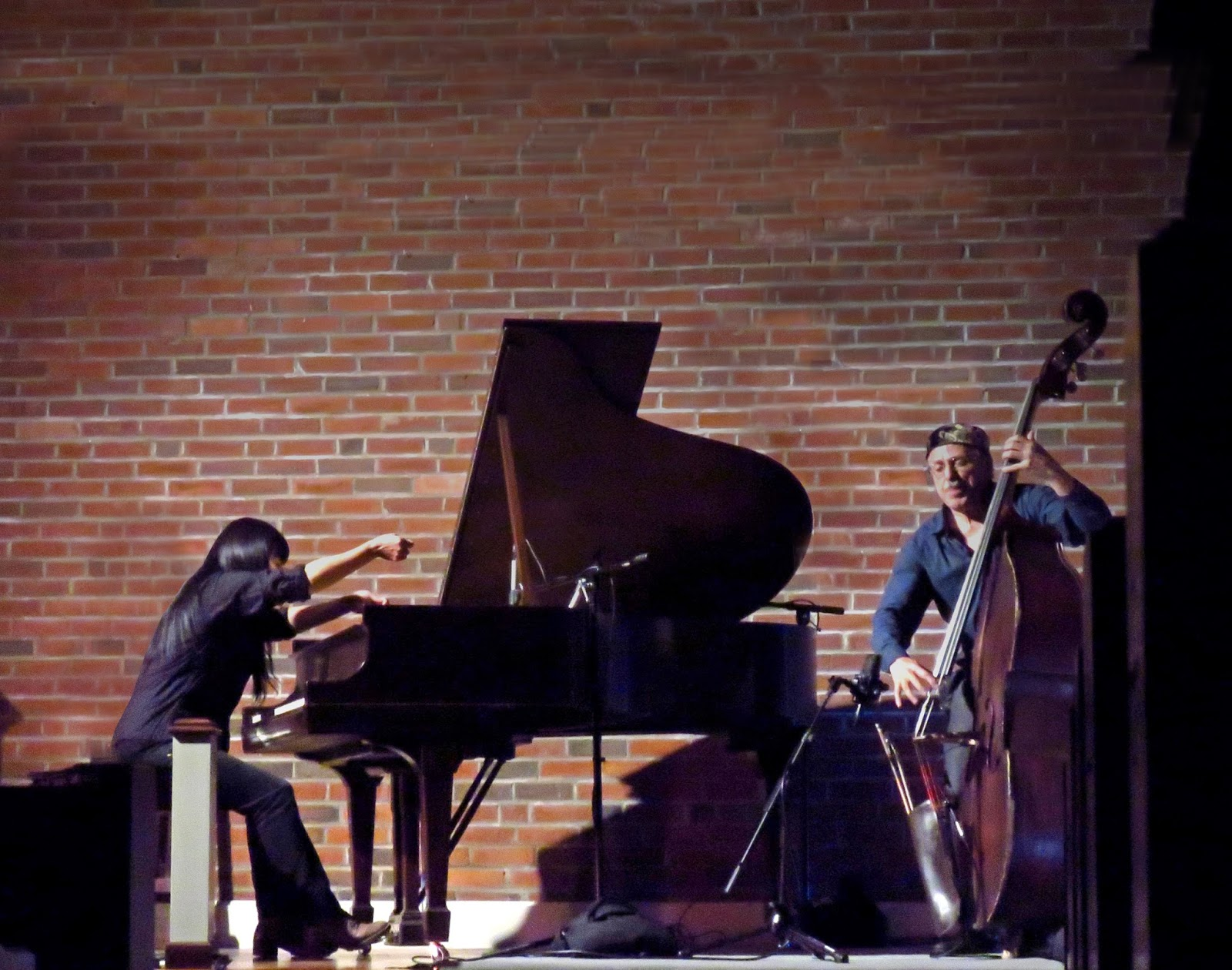 Great Improvisers Reveal A Lifetime Of Experience And Artistry In Every Note For Both Pianist Satoko Fujii Bassist Joe Fonda That Brings To Bear An