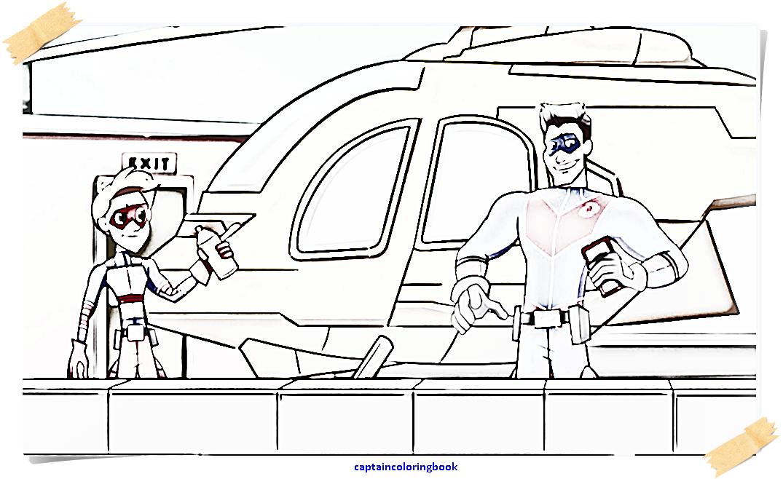 Henry Danger Coloring Sheet