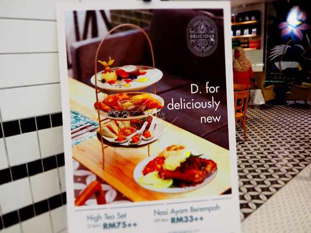 Delicious Cafe - Wajah dan Menu Baru Di Delicious Cafe One Utama, Damansara