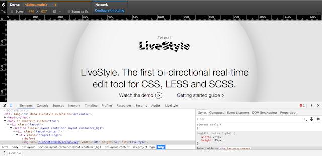 Emmet LiveStyle pour une édition bi-directionnelle du CSS., A Unix Mind In A Windows World