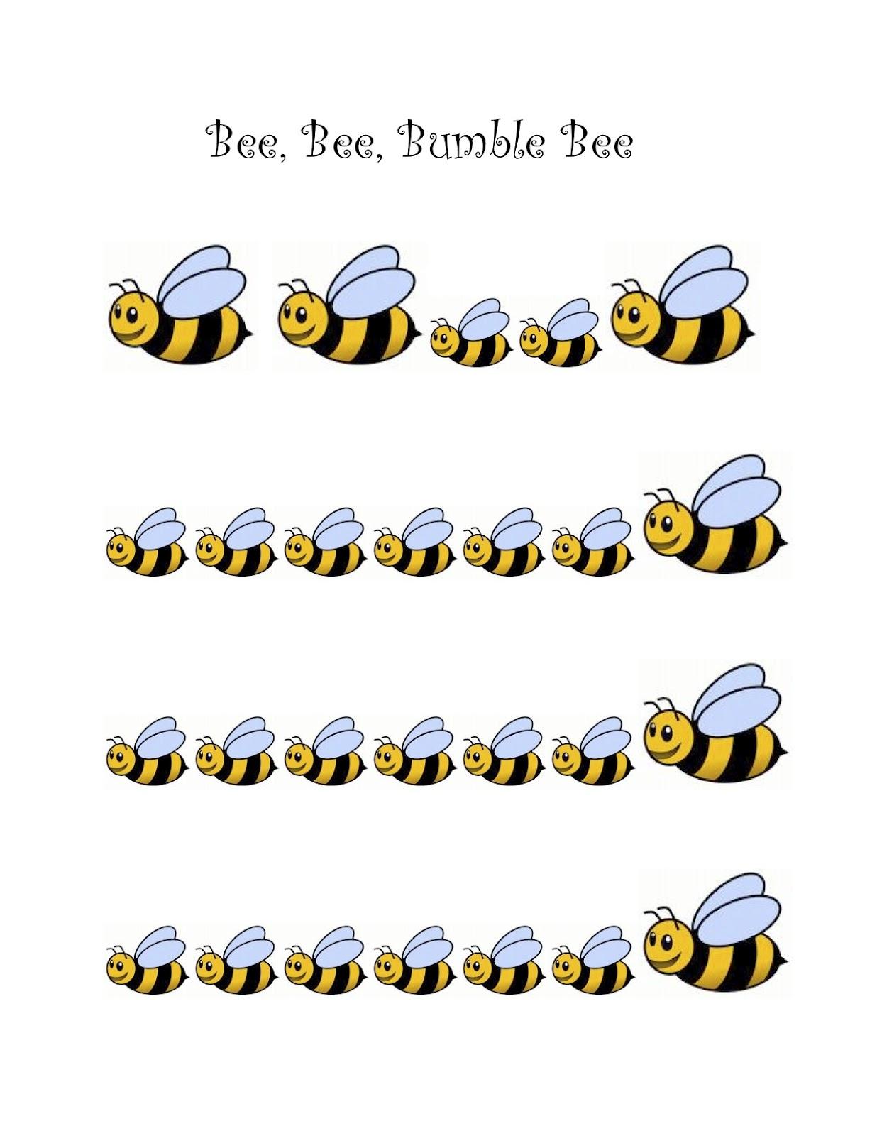 Bumble Bee Preschool Song