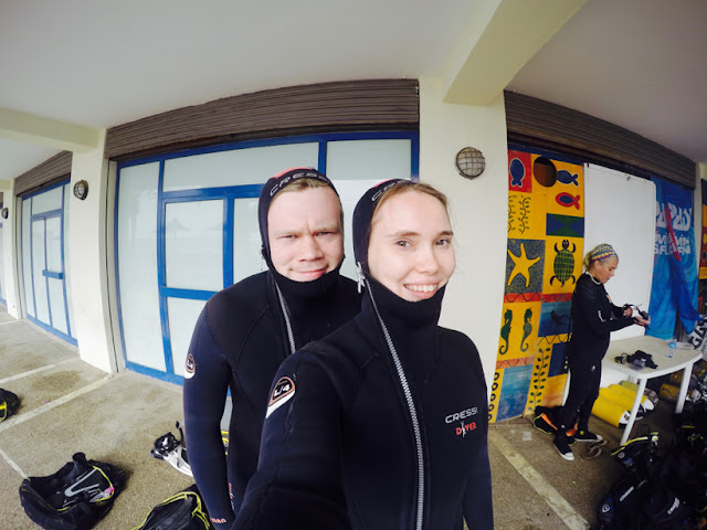 scuba diving Gran Canaria go pro