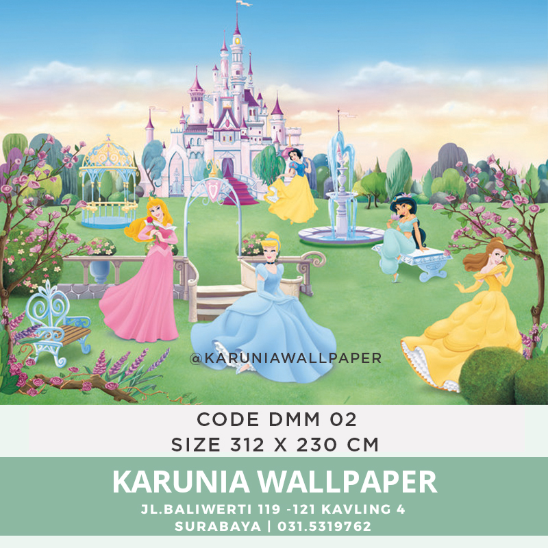 jual wallpaper dinding princess