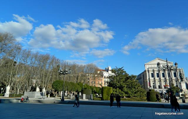 Madri, Plaza de Oriente