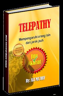 buku telepati, telepathy, ali ma'ruf