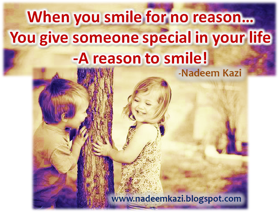 Quotes on Smile, Spiritual Quotes, Positive Thinking, Nadeem Kazi