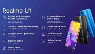 Realme u1 price, specifications, features, composition - thinktechnicals