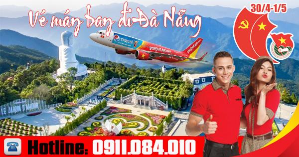 Đặt vé máy bay giá rẻ 30/4 và 1/5 đi Đà Nẵng