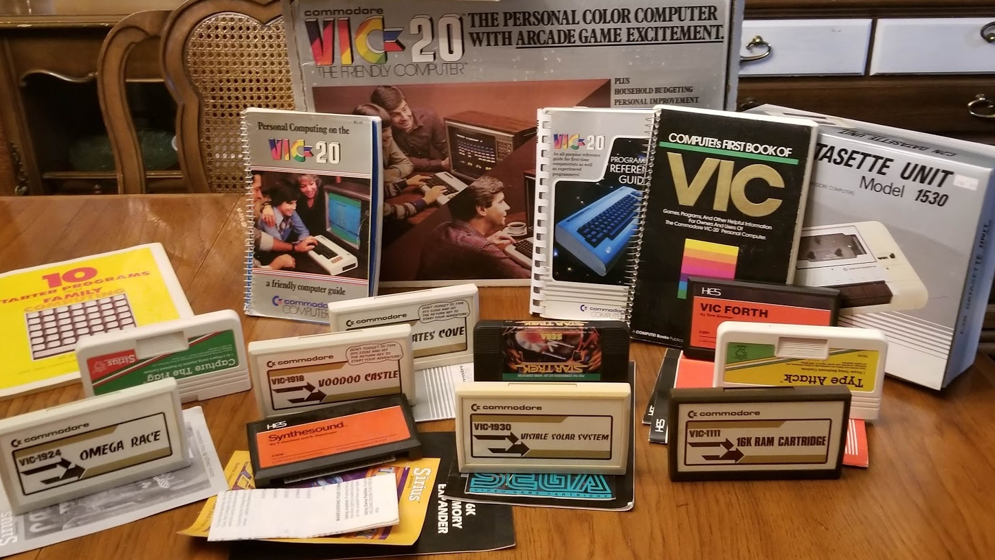 Nerdly Pleasures: Meet Commodore's VIC(-20), the Friendly