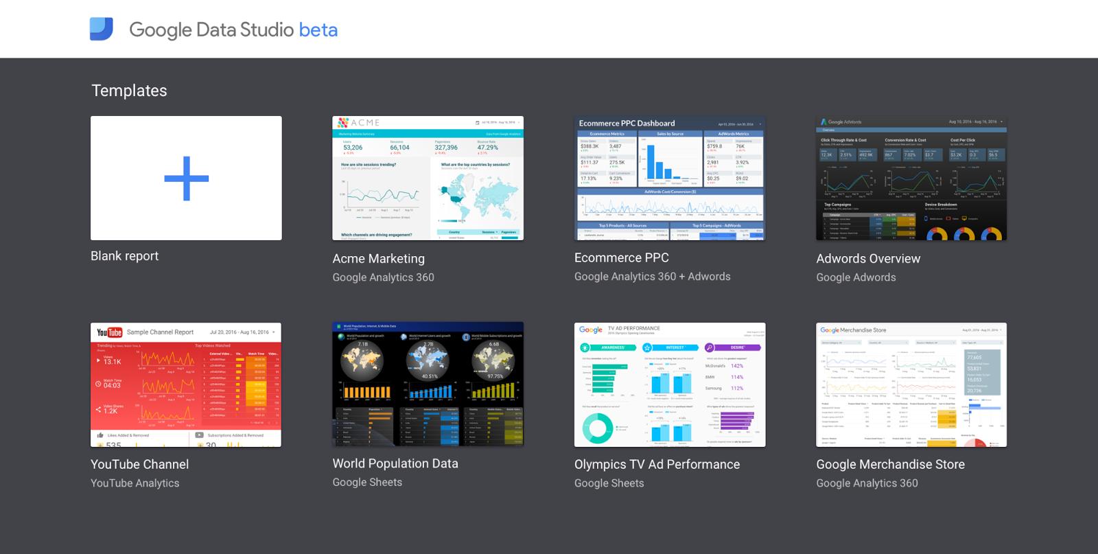 Analytics Blog: Spotlight on Data Studio: Beautiful Reports and ...