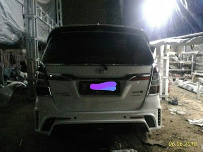 Full Bemper Modifikasi Innova 2013