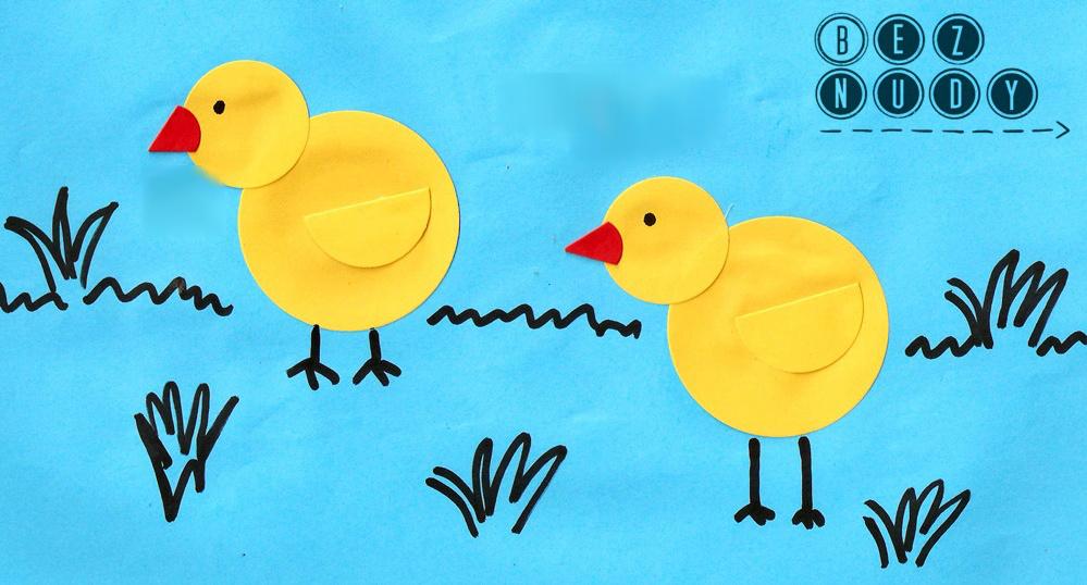 W co się bawić z dzieckiem: Zajączki i kurczaczki z kółek