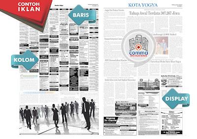 contoh iklan koran kr jogja