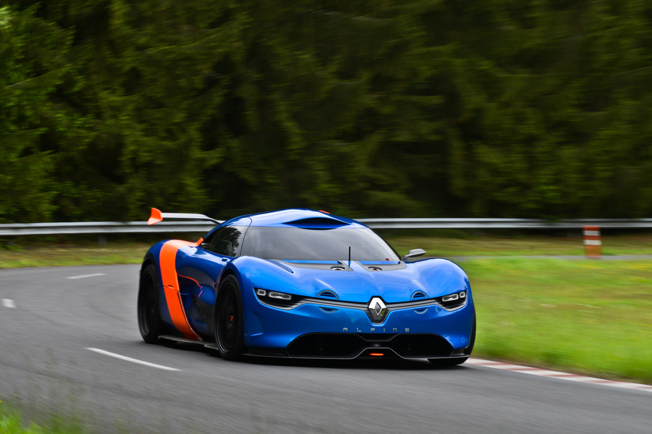 Sports Cars 2015: Renault Alpine A110-50 Supercar