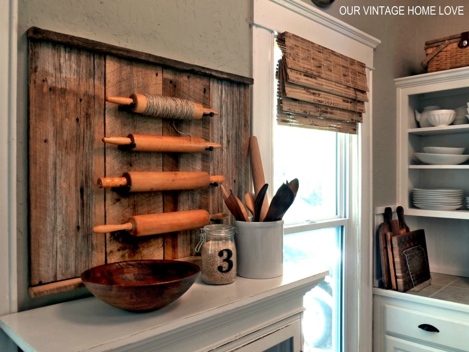 diy interior design ideas vintage home rolling pins 10779