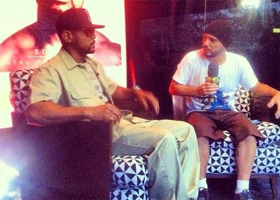 Alfinete entrevista Edi Rock do Racionais Mc's [Video]