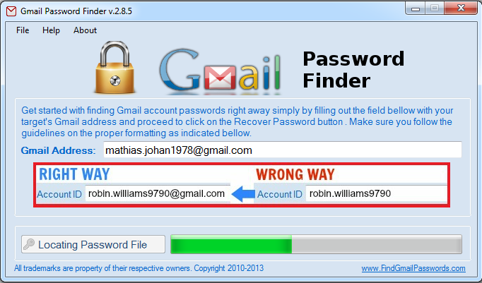 Gmail Password Hacking Software With Crack Free Download