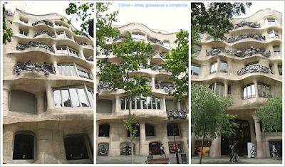 Barcelona; Conhecendo a Europa; sem guia; turismo na espanha; Passeig de Gràcia; Casa Milá.