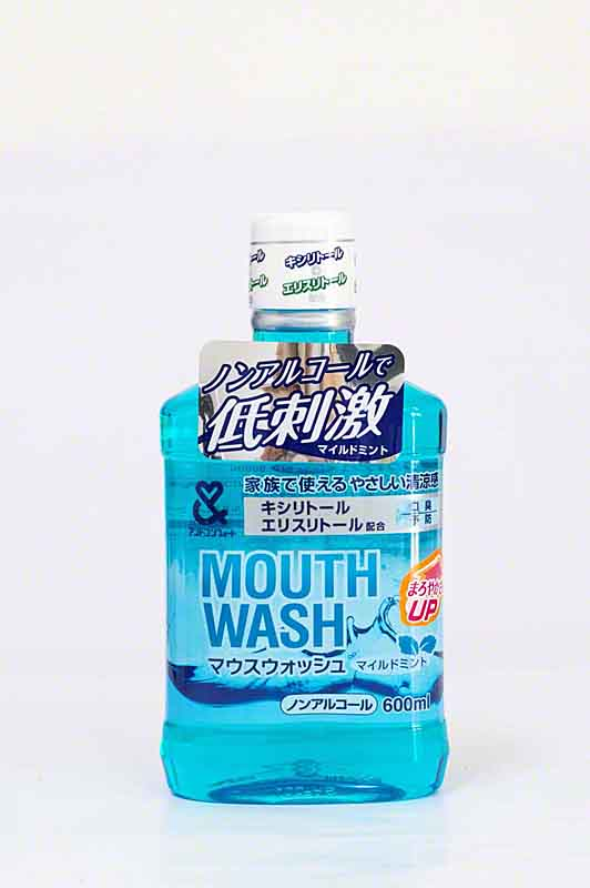 mouthwash, cheap, bottle, Japanese