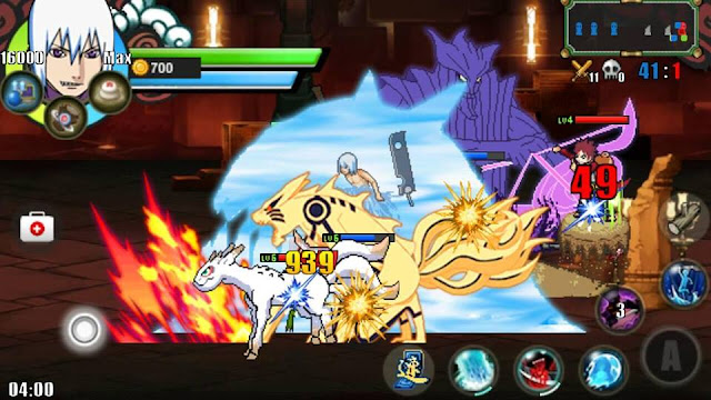 Download Naruto Senki MOD v1.20 First 3 Full Characters Game Naruto Android Terbaru