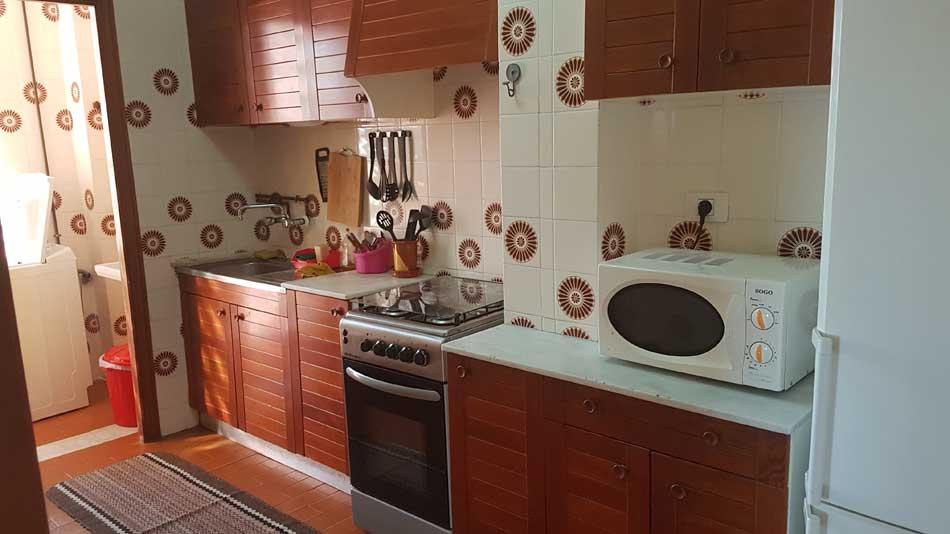 apartamento en alquiler calle les barraques benicasim cocina