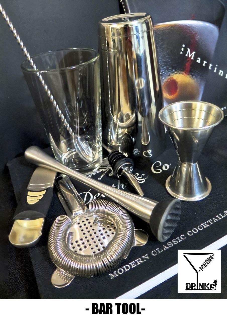 MEOW DRINKS 黑白紳士飲品工作室: 【調酒器具】認識調酒器具 PART 1