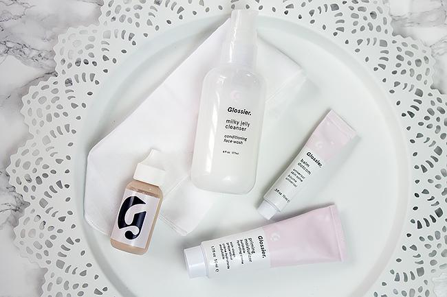 lossier Skin Phase-1 Set: Skin Tint, Balm Dot Com, Milk Jelly Cleanser, Priming  Moisturizer
