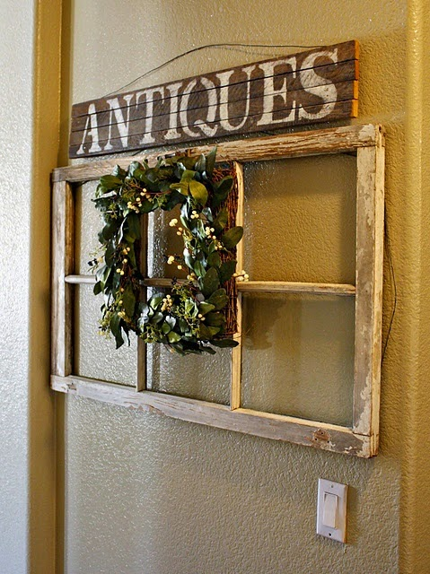 All in the Detail: vintage window frame