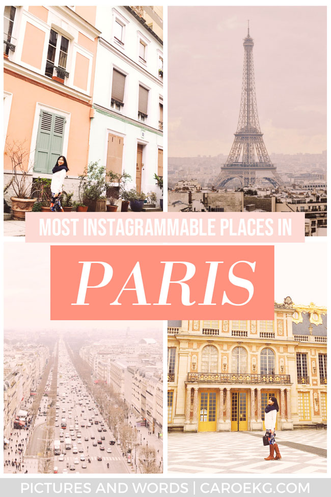 Want to know where all the most Instagrammable places in Paris are? The city is full of them, but this post will help you find the best of the best places to take pictures in Paris. This guide will help you snap all those perfect photos at the best Instagram spots in Paris! #paris #france #paristravel #parisphotography #francetravel