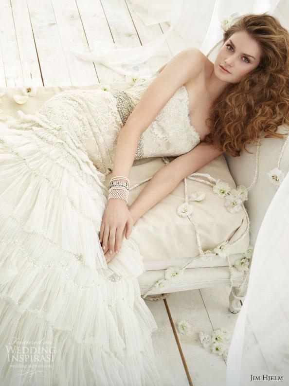 8cd71d2ee82c2 فساتين زفاف من جيم هيلم الرائعه 2012 ~ حول العالم